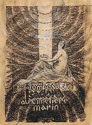 Jules Grandjouan (1875-1968) Au cimetière marin,