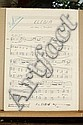 Nino ROTA (1911-1979) Manuscrit musical autographe,  Nino (1897), Click for value