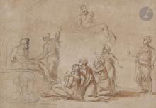 Attribué à Michel CORNEILLE (Paris 1642 - Paris 1708)