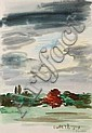 Jean BOULLAIRE (1893-1976) Paysage au grand ciel, Jacques (1893) Boullaire, Click for value