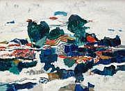Louis FERRAND (1905-1992) Le ruisseau, 1966 Huile