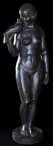 Lucien Charles E. ALLIOT (1877-1967) Femme à la