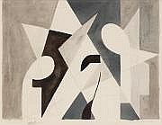 Maurice Miot dit MELITO (1920-1994) Composition,