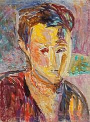 Lutka PINK (1906-1999) Portrait d'homme, 1947