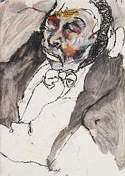 Lydie ARICKX (née en 1954) Portrait d'homme