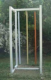 Albert Chubac (1925-2008) Stabile Sculpture en