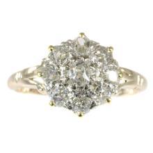 Victorian Diamond Cluster Ring c.1830