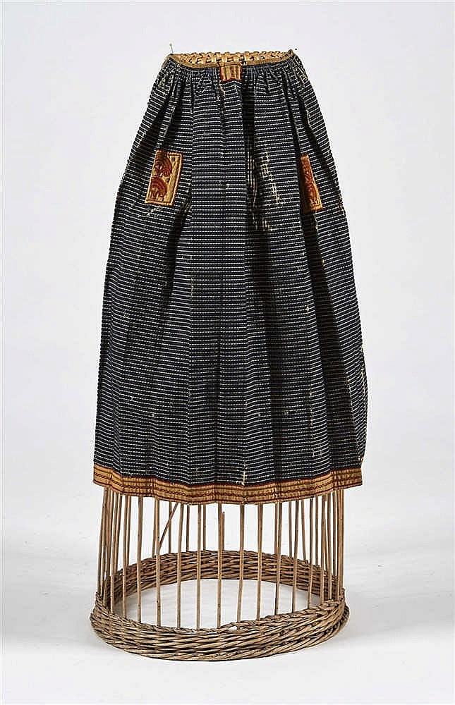 tablier en droguet tissage de chanvre et de laine altern n. Black Bedroom Furniture Sets. Home Design Ideas