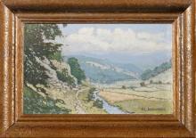 Alois Kalvoda, (1875 – 1934), Mountain Valley, beginning of the 20th century