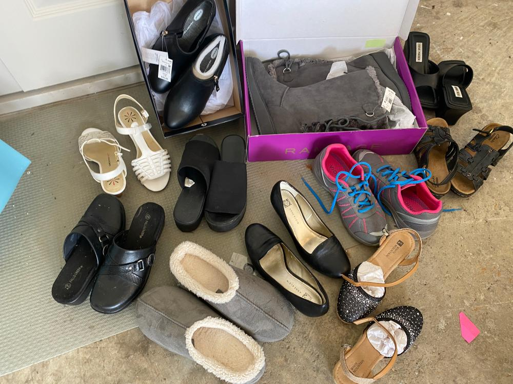 lot of women shoes size 6 5 to7 invaluable com