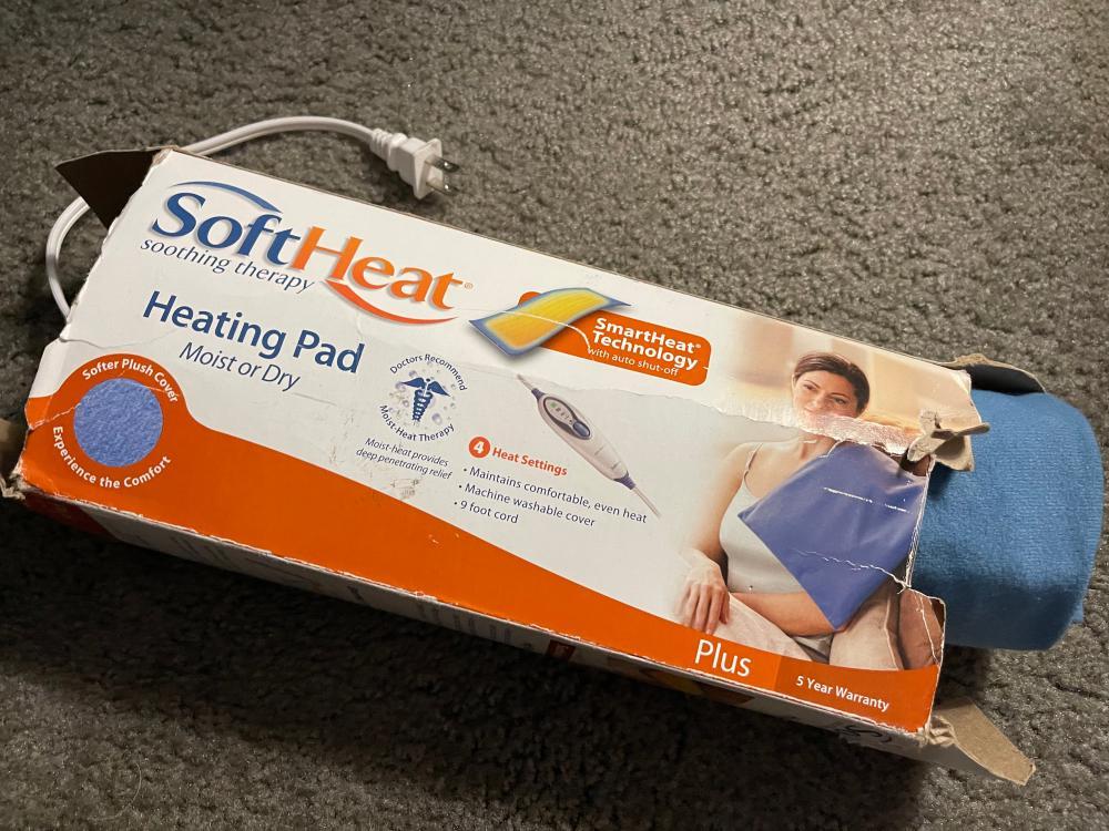 SOFT HEAT HEATING PAD