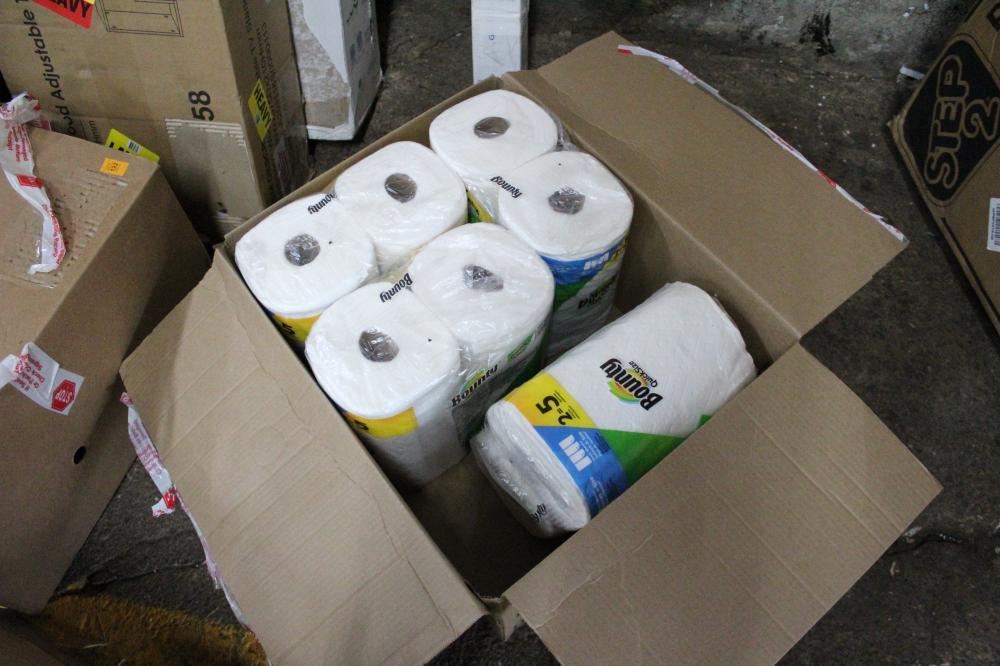 BOUNTY QUICKSIZE PAPER TOWELS 4 PACKS