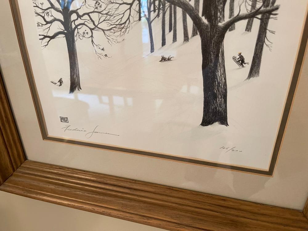 RICHARD H GERMAN 106/200 ORIGINAL ART FREDERICK JOHNSON