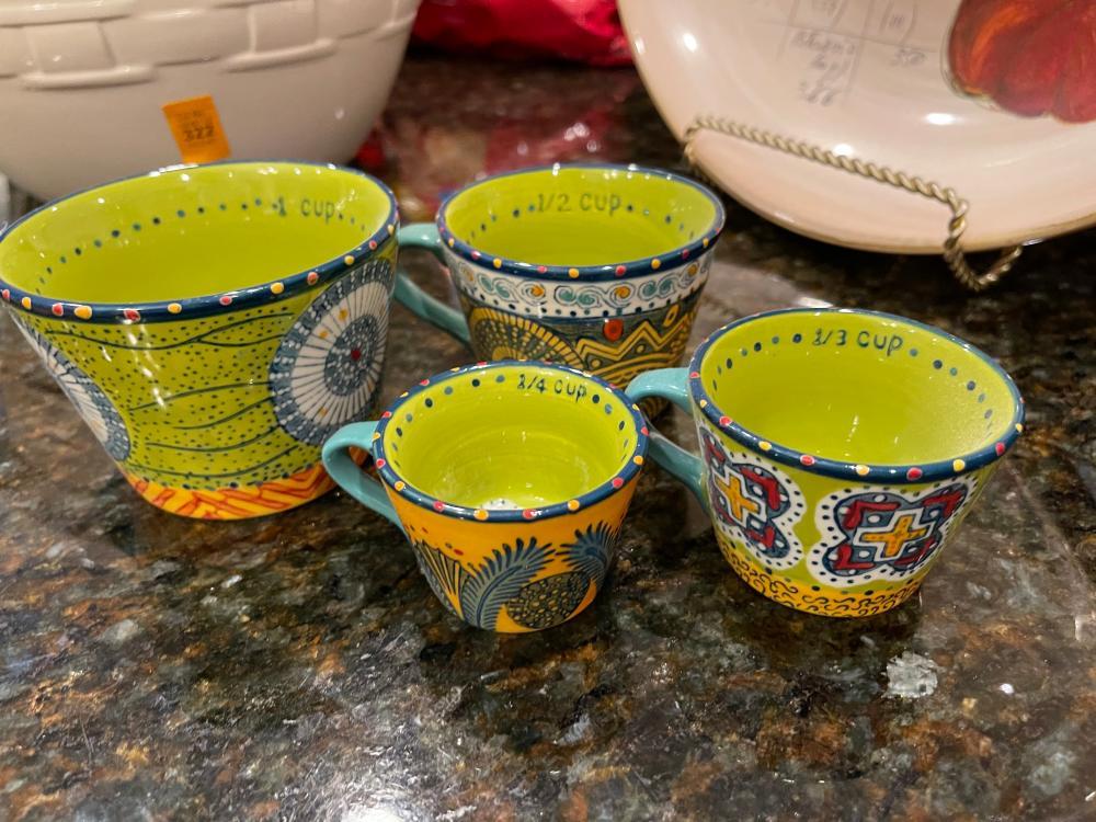 MEASURING CUP TEA-CUP SET