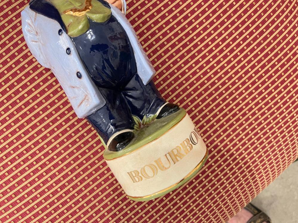 DAPPER MAN BOURBON DECANTER