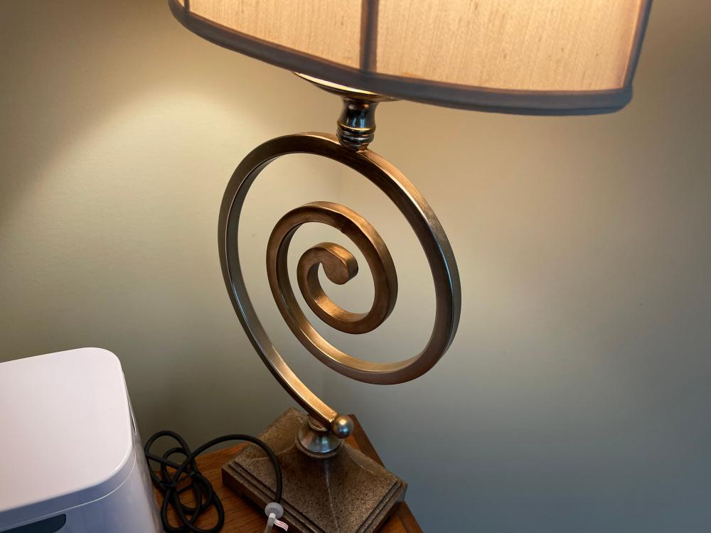 """34"""" CONTEMPORARY TABLE LAMPS SET OF TWO"""
