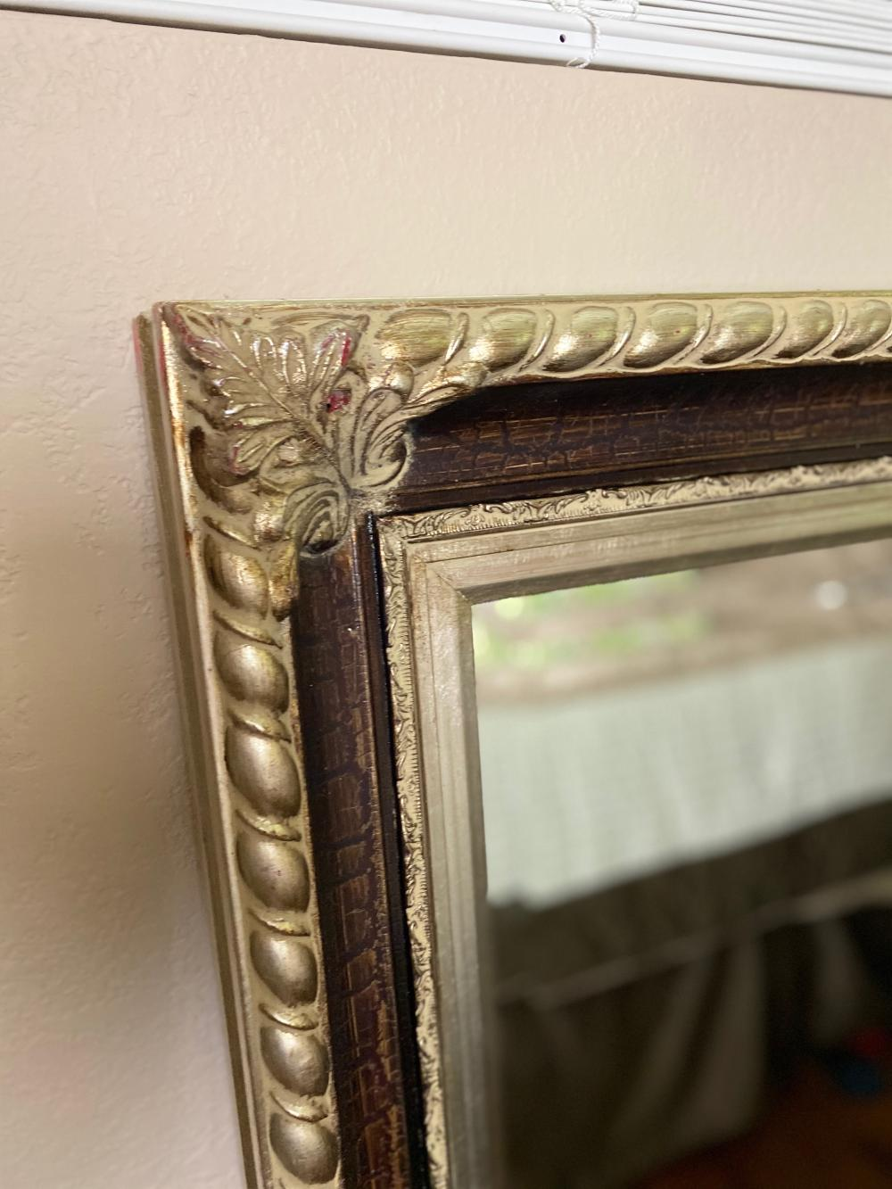 Sold Price Large Decorative Wall Mirror July 4 0120 4 00 Pm Edt