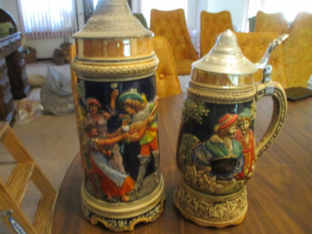 BEER STEIN MUSIC BOXES