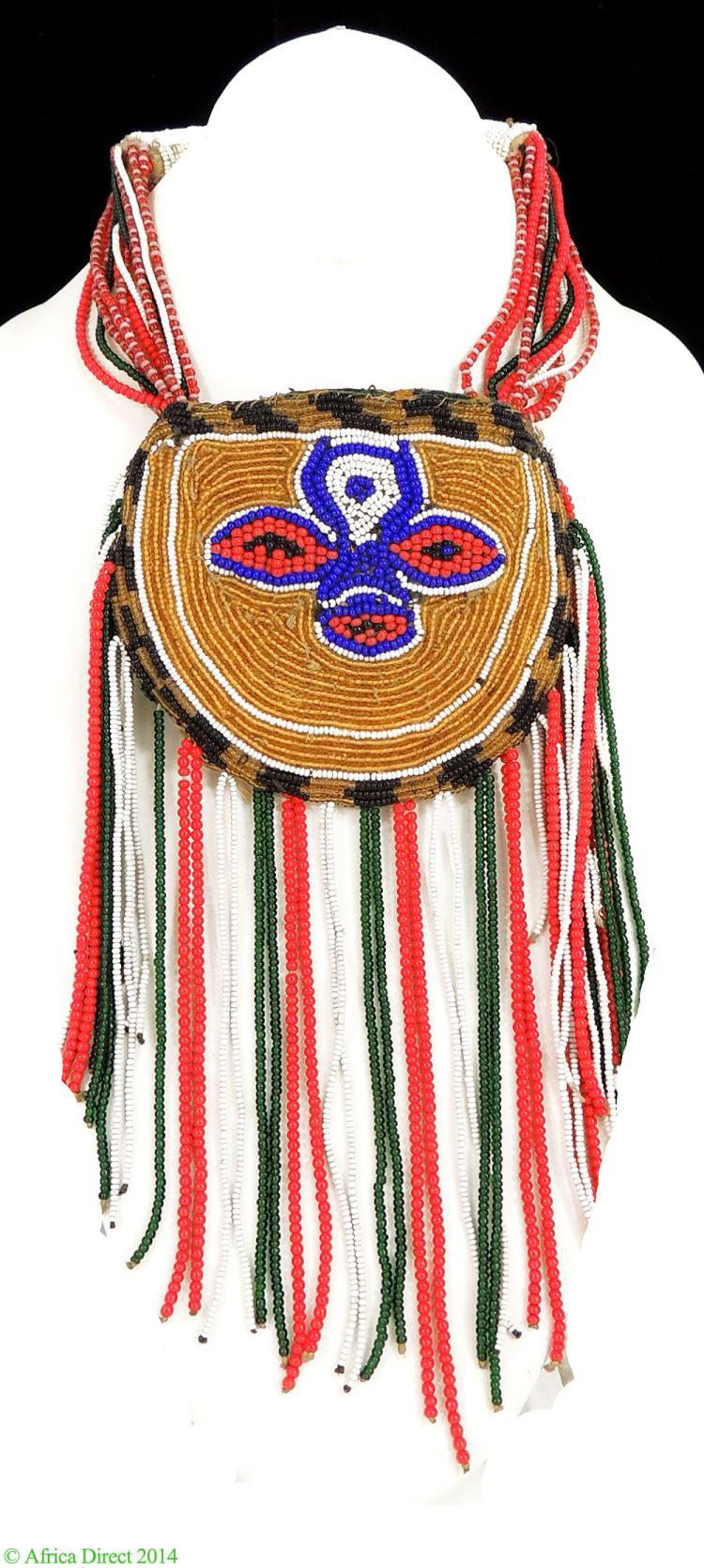 Yoruba Beaded Necklace Odigba Ifa Nigeria African