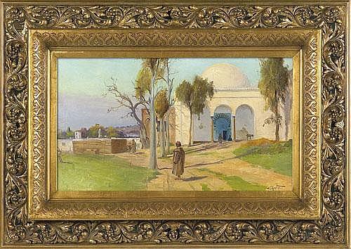 Balké Théodore Charles - Oriental Landscape