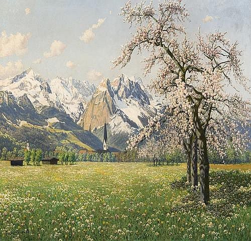 Graf Philipp : spring in Garmish Partenkirchen