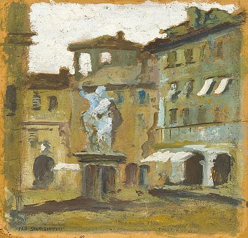Stanis ł awski Jan: Piazza dei cavalli in Piacenza