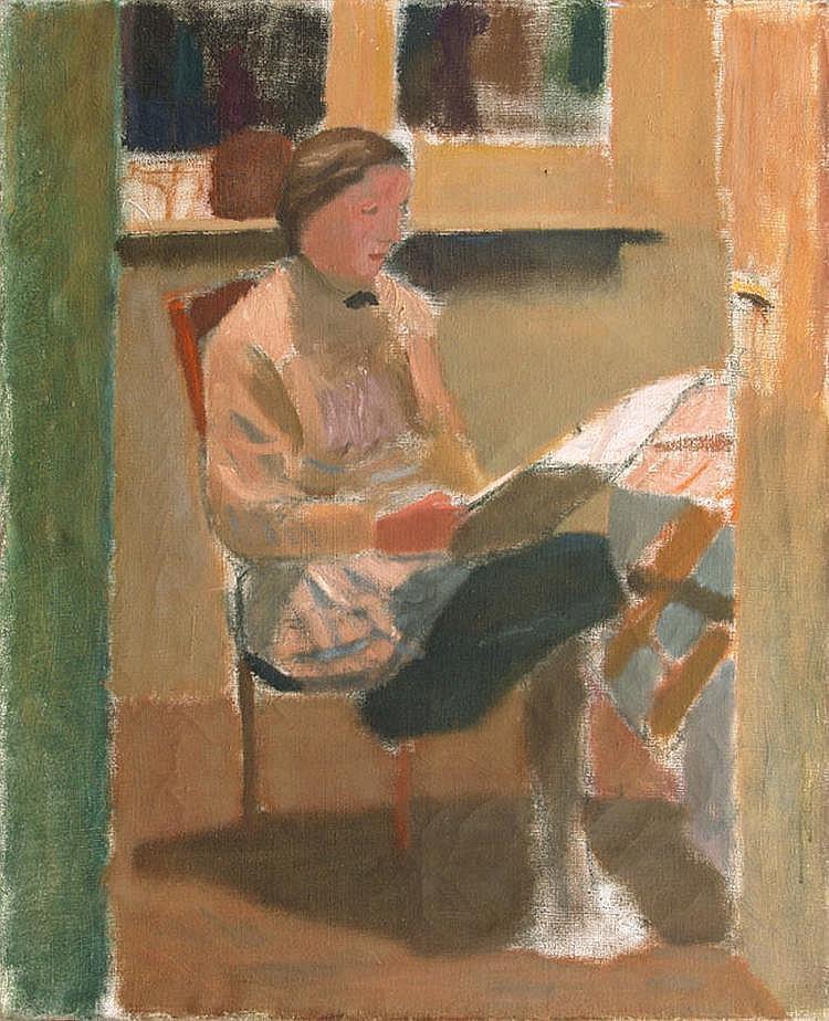Nacht-Samborski Artur Woman in an Atelier, circa