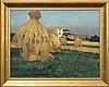 Czajkowski Stanisław - HARVEST, 1903, oil, canvas, Stanisław Jan Maurycy Czajkowski, Click for value