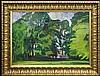 Czajkowski Stanisław - CHURCH AMONG TREES, 30'S OF XX C., oil, canvas, Stanisław Jan Maurycy Czajkowski, Click for value