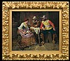 Appert Georges - IN A TAVERN - MUSKETEERS AND A GIRL, oil, canvas, George Appert, Click for value