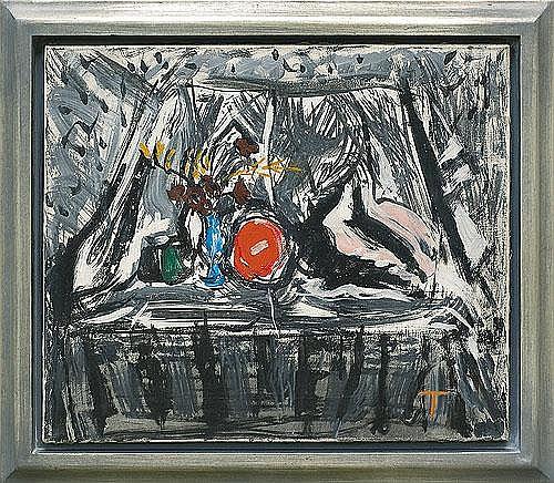 Taranczewski Wacław - STILL-LIFE WITH A SHELL, 1964