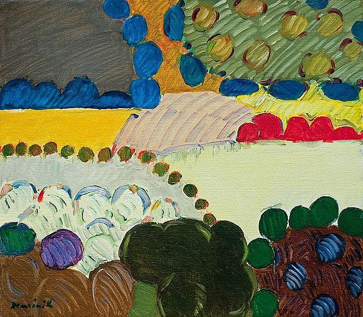 Dominik Tadeusz Landscape oil, canvas 1994 76 x