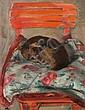SLEEPING DOG (KIKI), 1937, Wojciech Weiss, Click for value