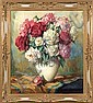 Bouquet of peonies, Helmuth Andreas Volkwein, Click for value