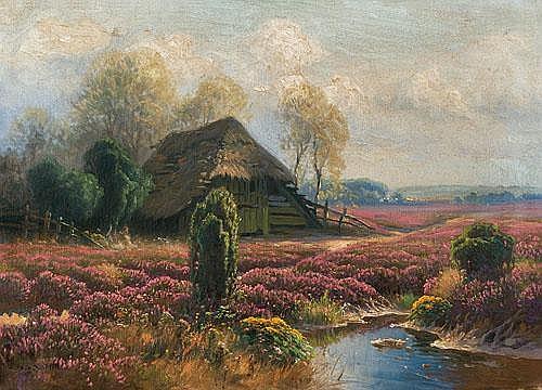 Cottage on heathland