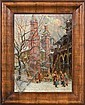 Square in Cracow, Erno Erb, Click for value