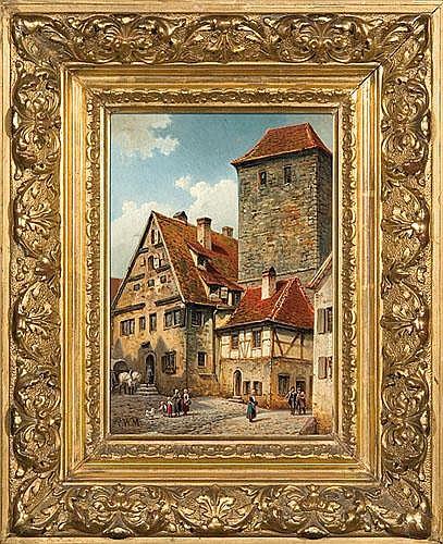 Street in Rothenburg