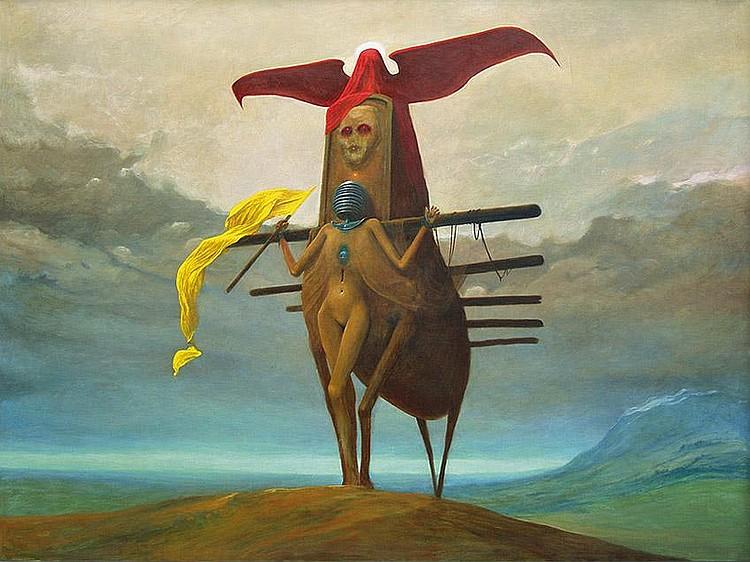 Beksi ń ski Zdzis ł aw Untitled, 1973