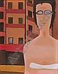 Nowosielski Jerzy Woman in Glasses, 1972, Jerzy Nowosielski, Click for value