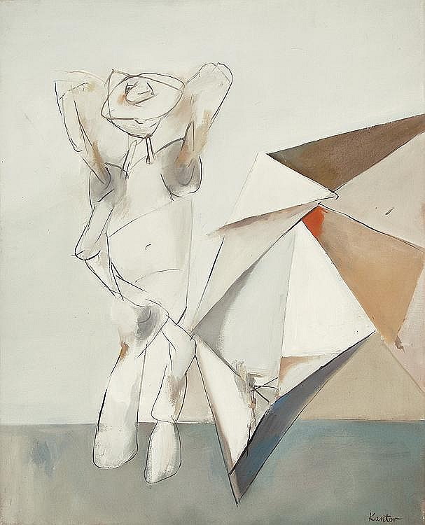 Kantor Tadeusz Figure and Umbrella, 1950