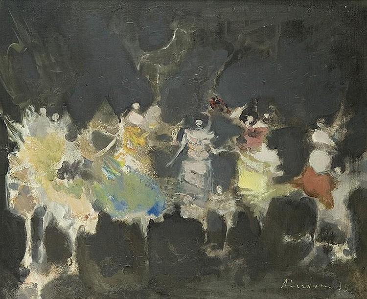 Aberdam Alfred  Ballet Dancers, 1959