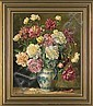 Hanft Willy    FLOWERS, oil, canvas, Willy Hanft, Click for value