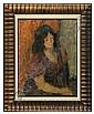 Portrait of a Lady, c. 1960, Eugeniusz Eibisch, Click for value