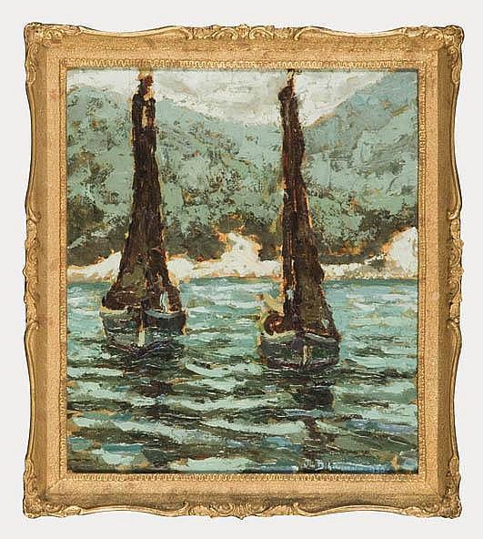Sail-boats, 1930