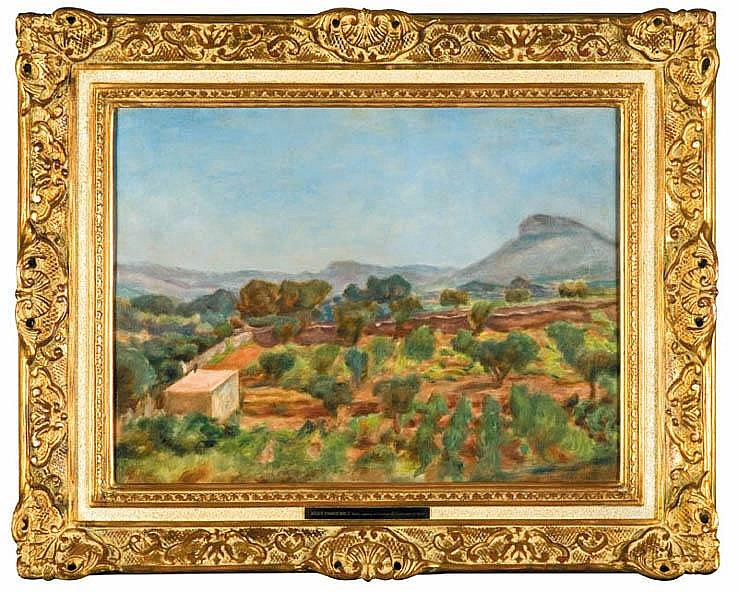 A View from Cassis Vineyard, 1928