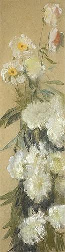 Wyczółkowski Leon - FLOWERS, C. 1915,