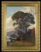 Hellgrewe Rudolf - PINES BY THE LAKE, oil, canvas