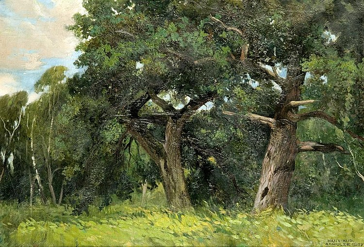 Old Trees, 1917