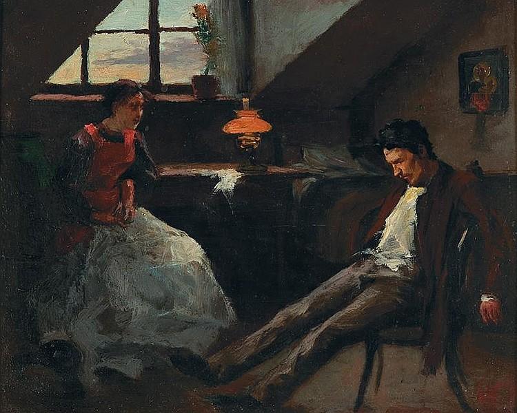 Misunderstanding, c. 1888