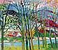 Zakopane Landscape, Jan Szancenbach, Click for value
